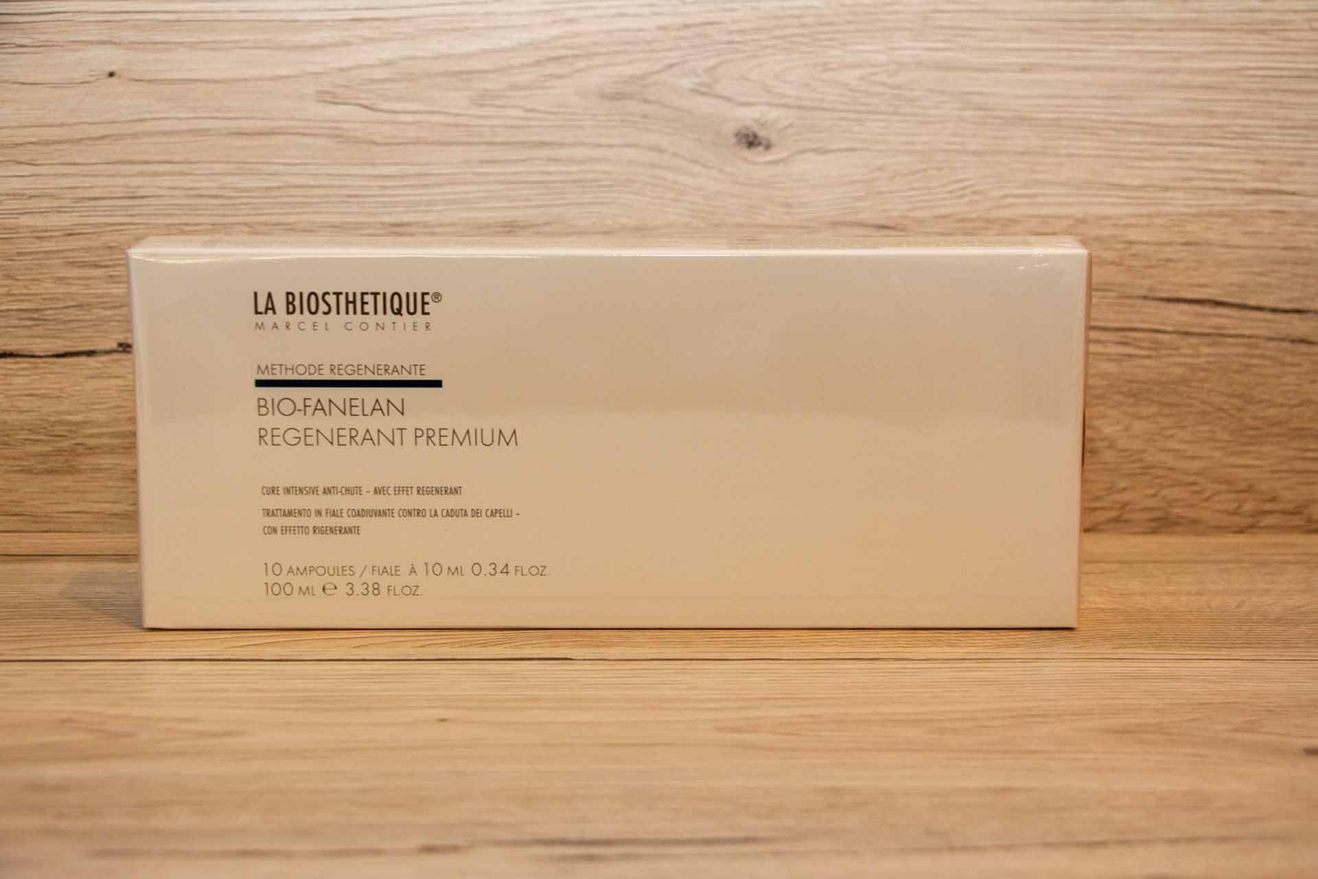 Prodotti La Biosthetique, Bio-Fanelan-Regenerant-Premium, kit trattamento per capelli. Diego Staff Parrucchieri Spinea