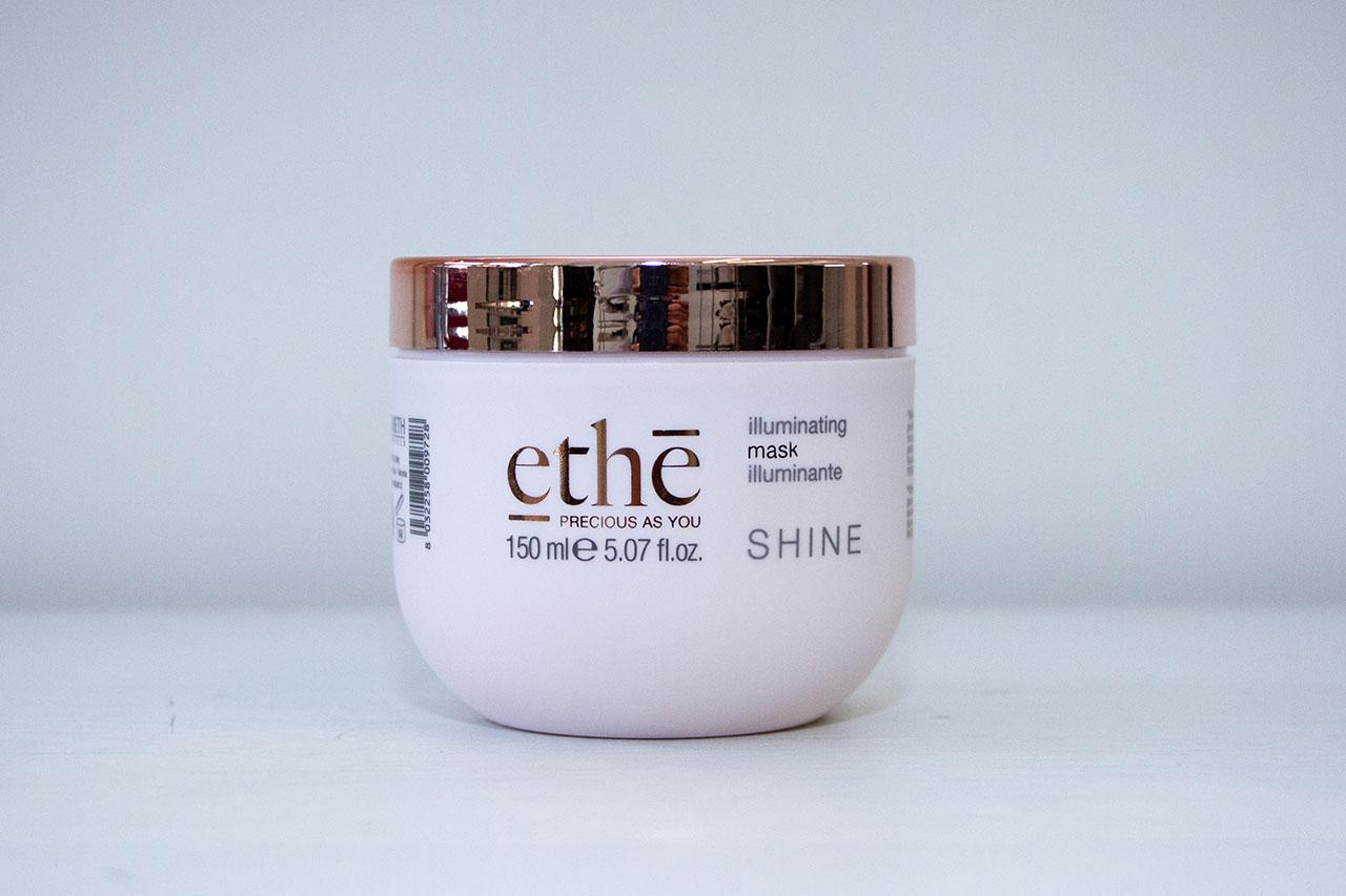 Prodotti Ethè linea Shine Illuminating Mask da Diego Staff Parrucchieri Spinea